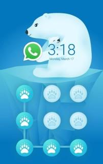 Female Bear Love Kid Android Theme Mobile Theme