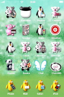 Animal Icons IPhone Theme Mobile Theme