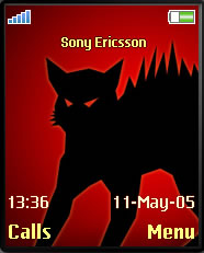 Black Cat Mobile Theme