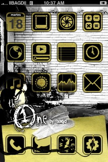 The One IPhone Theme Mobile Theme