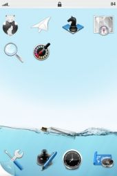 Ocean IPhone Theme Mobile Theme