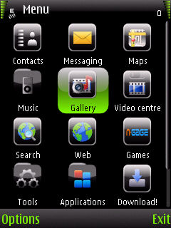 Green_Pearl By Ahmed Nazi Mobile Theme