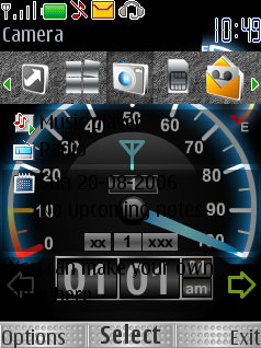 Speed Flash Theme Mobile Theme