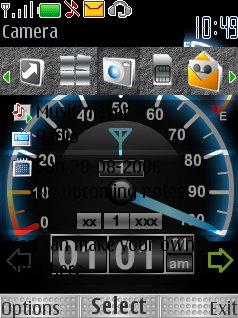 Download Speed Flash Theme Nokia Theme | Mobile Toones