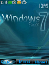 Windows 7 Water Mobile Theme