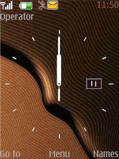 Swf Clock With Date Nokia S40 Theme Mobile Theme