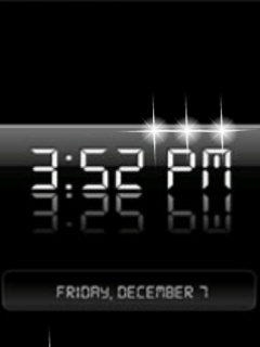 Animated Clock Mobile Theme