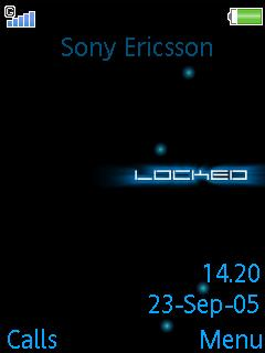 Animated Locked Mobile Theme