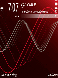 Red Xpress Music Mobile Theme