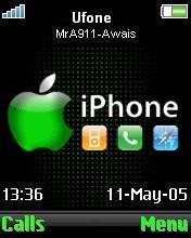 Apple_Animated Mobile Theme