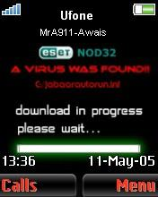 Virus Found Mobile Theme
