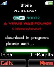 Virus Found Mobile Theme