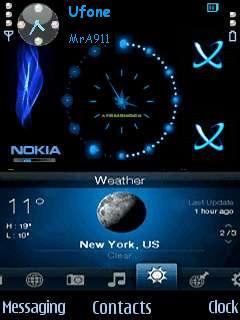 Power Nokia4 Mobile Theme