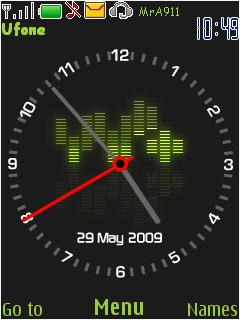 Beat Clock Mobile Theme