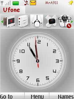 MrA911 Clock Mobile Theme