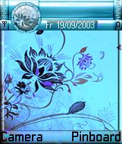 Blue Lamour Mobile Theme