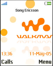 Walkman W850 Animated Mobile Theme