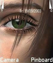 Beautiful Eyes Mobile Theme