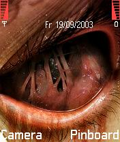 Blooded Eye Mobile Theme