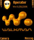 Walkman Animated Mobile Theme