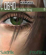 Beautyful Eyes Mobile Theme