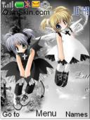 Angel N Devil Mobile Theme