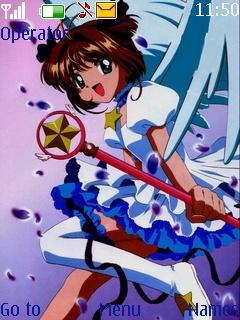 Anime Girl Mobile Theme