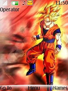 Goku Mobile Theme