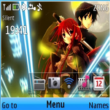 Shakugan No Shana Mobile Theme