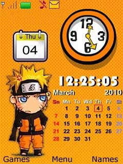 Naruto Flashlite Mobile Theme