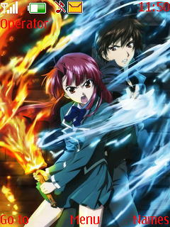 Kaze No Stigma S40 Theme Mobile Theme