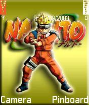 Naruto Theme Mobile Theme