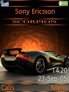 Black Scorpion Mobile Theme
