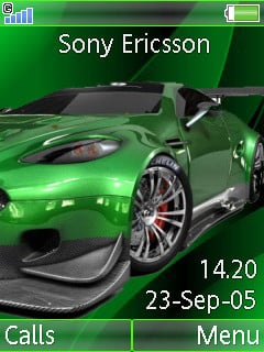 Aston Martin Mobile Theme