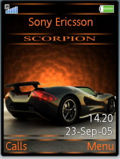 Scorpio Mobile Theme