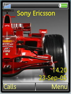 Formula 1 Mobile Theme