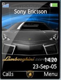 Black Racing Car Theme Mobile Theme