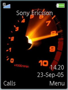 Speedometer Theme Mobile Theme