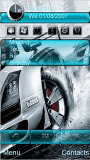 Racer Car S60 Nokia Theme Mobile Theme