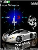 Auto Clock Mobile Theme