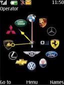 Logos Analog Clock Mobile Theme