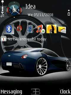 Bugati NI Mobile Theme