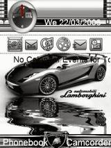 Animated Lamborghin Mobile Theme