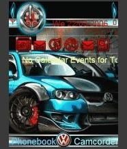 Animated VW Golf Mobile Theme