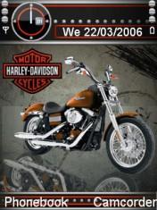 Animated Harley Dav Mobile Theme