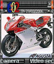 MV Agusta Sport Bike Mobile Theme
