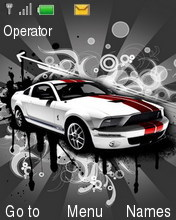 Automotive Theme Mobile Theme