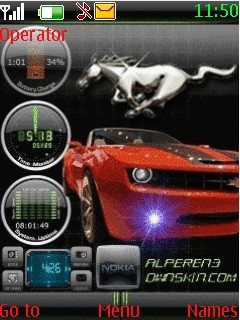 Car Nokia S40 Theme Mobile Theme