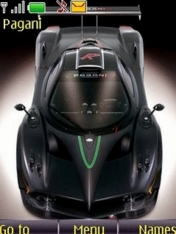 Pagani Car Nokia Theme Mobile Theme