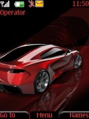 Red Car Nokia Theme Mobile Theme